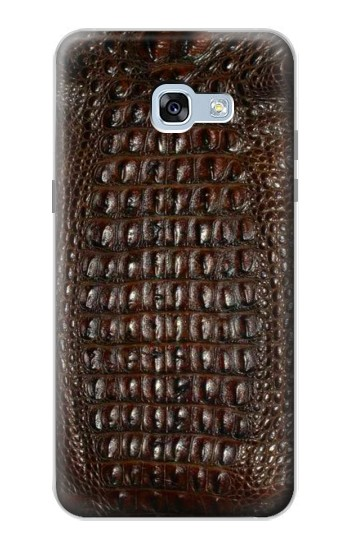 Printed Brown Skin Alligator Graphic Printed Samsung Galaxy A5 (2017) Case