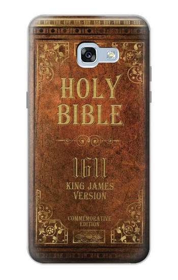 Printed Holy Bible 1611 King James Version Samsung Galaxy A5 (2017) Case