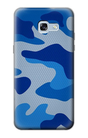 Printed Army Blue Camouflage Samsung Galaxy A5 (2017) Case