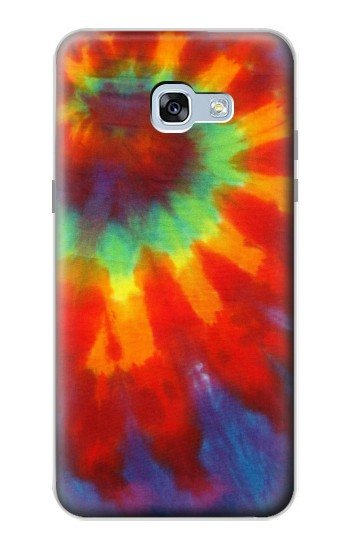 Printed Colorful Tie Dye Fabric Texture Samsung Galaxy A5 (2017) Case