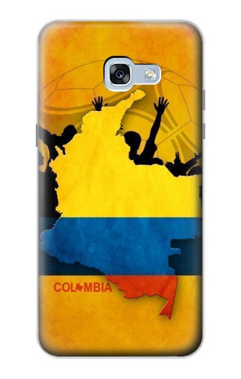 Printed Colombia Football Flag Samsung Galaxy A5 (2017) Case