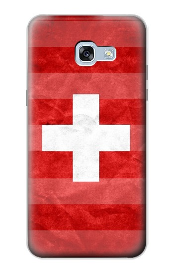 Printed Switzerland Football Flag Samsung Galaxy A5 (2017) Case