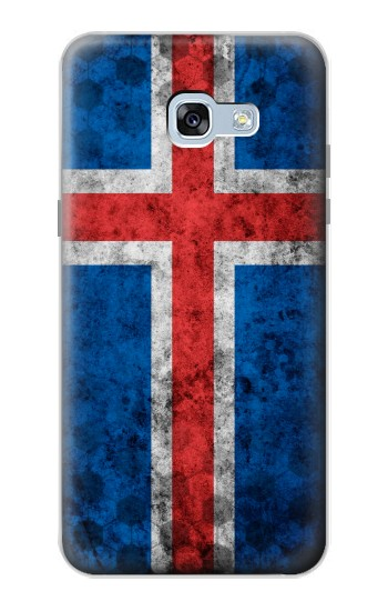 Printed Iceland Football Flag Samsung Galaxy A5 (2017) Case