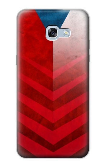 Printed Czech Republic Football Flag Samsung Galaxy A5 (2017) Case