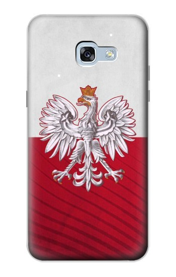Printed Poland Football Flag Samsung Galaxy A5 (2017) Case