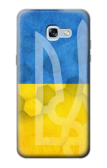 Printed Ukraine Football Flag Samsung Galaxy A5 (2017) Case