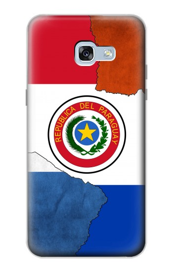 Printed Paraguay Flag Samsung Galaxy A5 (2017) Case