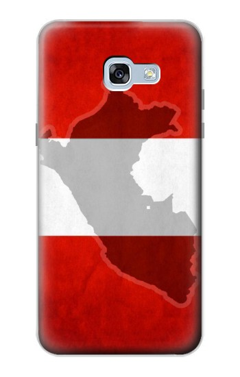 Printed Peru Flag Samsung Galaxy A5 (2017) Case