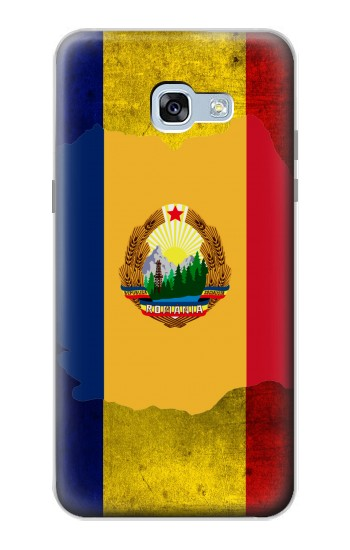Printed Romania Flag Samsung Galaxy A5 (2017) Case