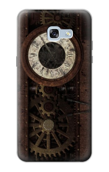 Printed Steampunk Clock Gears Samsung Galaxy A5 (2017) Case