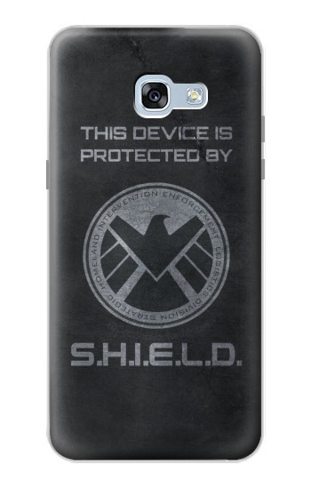 Printed This Device is Protected by Shield Samsung Galaxy A5 (2017) Case