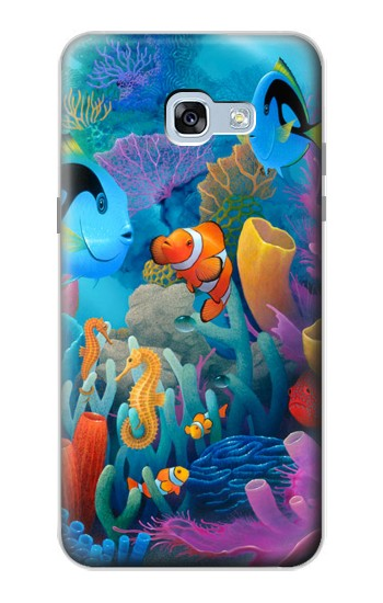 Printed Underwater World Cartoon Samsung Galaxy A5 (2017) Case