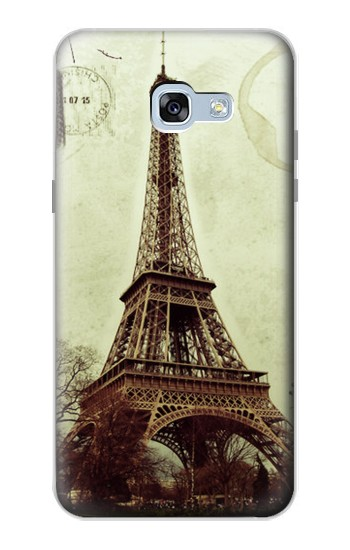 Samsung Galaxy A5 (2017) Vintage Tour Eiffel Postcard Case Cover