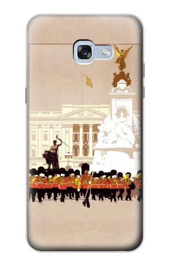 Printed Vintage Travel Brochure London Samsung Galaxy A5 (2017) Case