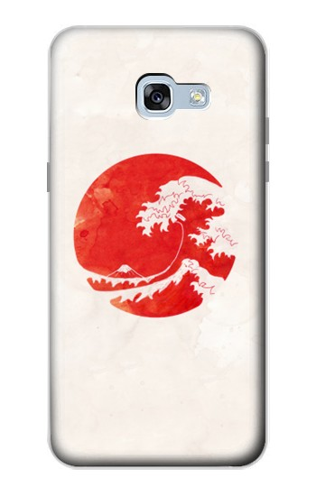 Printed Waves Japan Flag Samsung Galaxy A5 (2017) Case