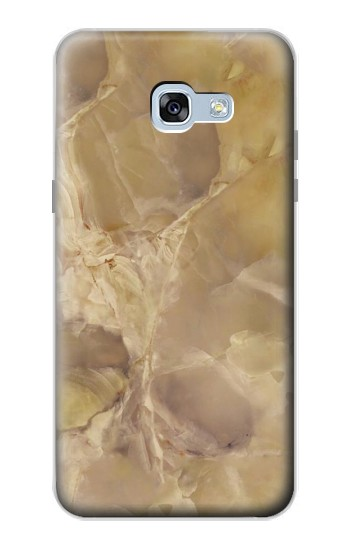 Printed Yellow Marble Stone Samsung Galaxy A5 (2017) Case