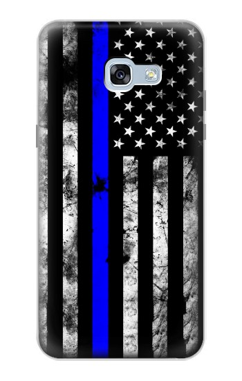 Printed Thin Blue Line USA Samsung Galaxy A5 (2017) Case