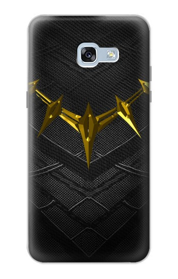 Printed Black Panther Inspired Costume Gold Necklace Samsung Galaxy A5 (2017) Case
