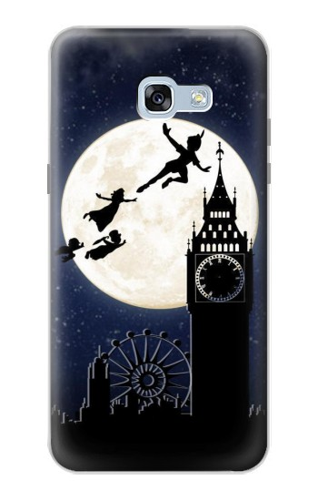 Printed Peter Pan Fly Fullmoon Night Samsung Galaxy A5 (2017) Case