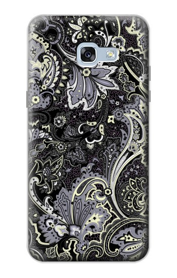 Printed Batik Flower Pattern Samsung Galaxy A5 (2017) Case