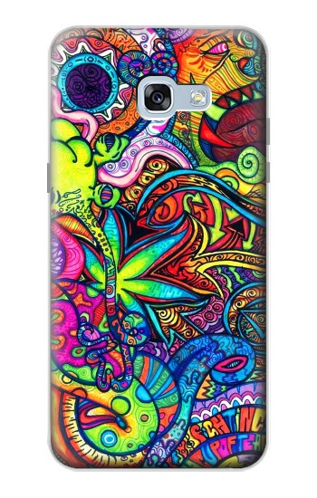 Printed Colorful Art Pattern Samsung Galaxy A5 (2017) Case