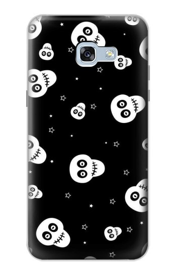 Printed Skull Pattern Samsung Galaxy A5 (2017) Case