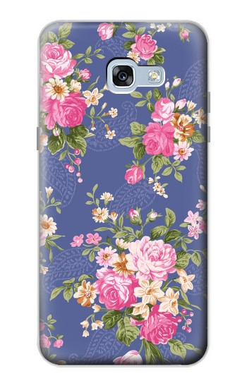 Printed Vintage Flower Pattern Samsung Galaxy A5 (2017) Case