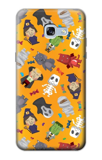 Printed Cute Halloween Cartoon Pattern Samsung Galaxy A5 (2017) Case