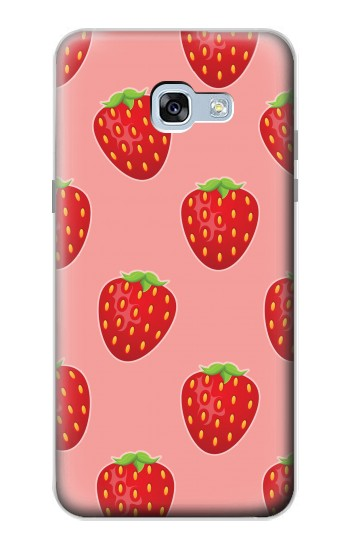 Printed Strawberry Fruit Pattern Samsung Galaxy A5 (2017) Case