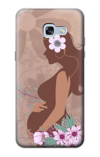 Printed Pregnant Mommy Baby Samsung Galaxy A5 (2017) Case