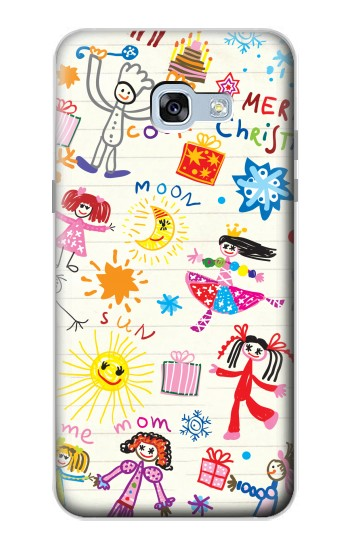 Printed Kids Drawing Samsung Galaxy A5 (2017) Case
