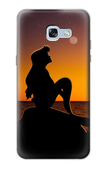 Printed Mermaid Sunset Samsung Galaxy A5 (2017) Case