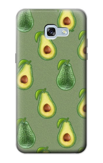 Printed Avocado Fruit Pattern Samsung Galaxy A5 (2017) Case