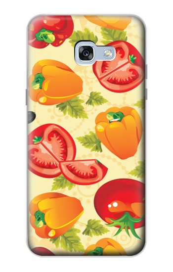 Printed Seamless Food Vegetable Samsung Galaxy A5 (2017) Case