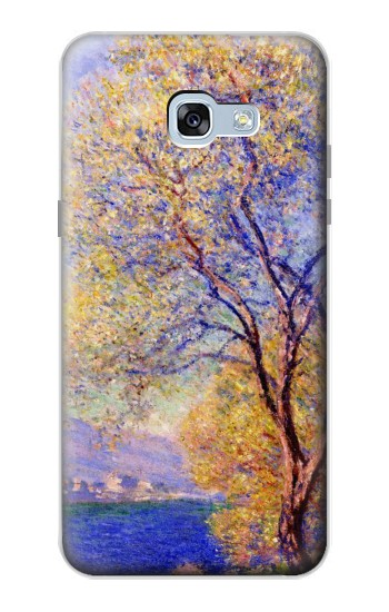 Printed Claude Monet Antibes Seen from the Salis Gardens Samsung Galaxy A5 (2017) Case