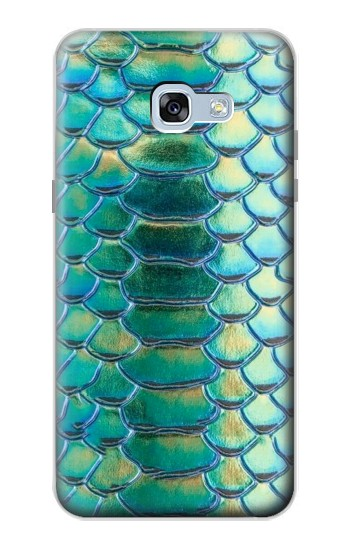Printed Green Snake Scale Graphic Print Samsung Galaxy A5 (2017) Case