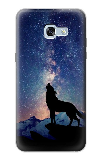Printed Wolf Howling Million Star Samsung Galaxy A5 (2017) Case