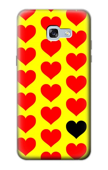 Printed Red Heart Samsung Galaxy A5 (2017) Case