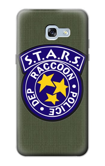 Printed Resident Evil Star Badge Chris Outfit Samsung Galaxy A5 (2017) Case