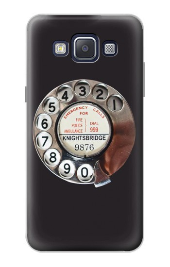 Printed Retro Rotary Phone Dial On Samsung Galaxy A5, A5 Duos Case