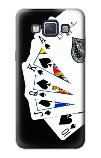 Printed Poker Royal Straight Flush Samsung Galaxy A5, A5 Duos Case