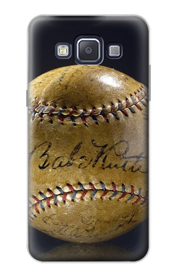 Printed Babe Ruth Baseball Autographed Samsung Galaxy A5, A5 Duos Case