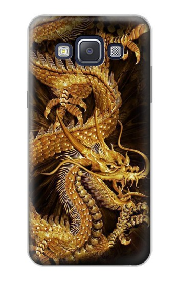 Printed Chinese Gold Dragon Printed Samsung Galaxy A5, A5 Duos Case