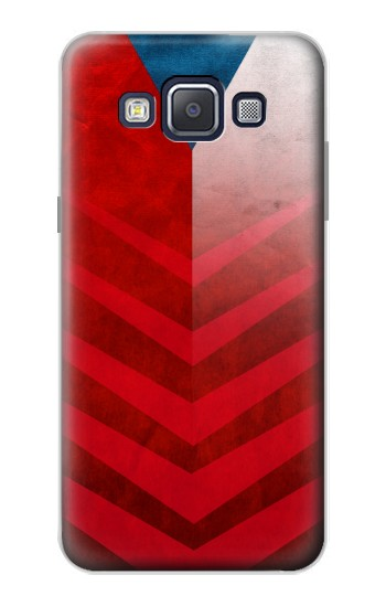 Printed Czech Republic Football Flag Samsung Galaxy A5, A5 Duos Case