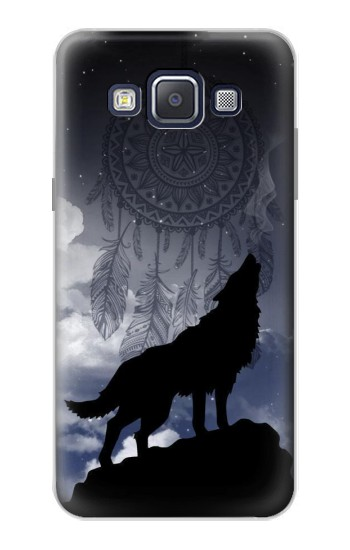 Printed Dream Catcher Wolf Howling Samsung Galaxy A5, A5 Duos Case