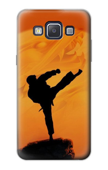 Printed Kung Fu Karate Fighter Samsung Galaxy A5, A5 Duos Case
