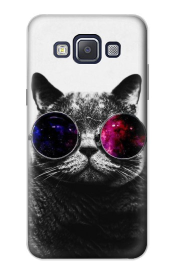 Printed Cool Cat Glasses Samsung Galaxy A5, A5 Duos Case