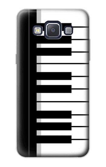 Printed Black and White Piano Keyboard Samsung Galaxy A5, A5 Duos Case