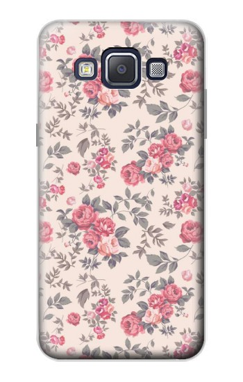 Printed Vintage Rose Pattern Samsung Galaxy A5, A5 Duos Case