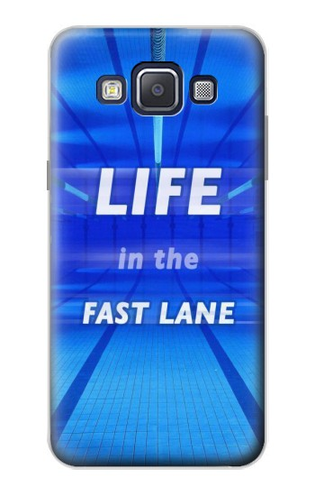 Printed Life in the Fast Lane Swimming Pool Samsung Galaxy A5, A5 Duos Case